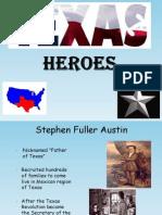 texas heroes english