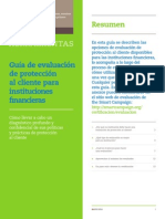 Guide to Client Protection Assessments Spanish