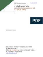 Castoriadis - Octavio Paz - Sempurn - Barral - Debate Del Escritor Y La Democracia