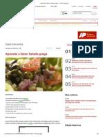 Aprenda a Fazer_ Salada Grega - Jornal Pequeno