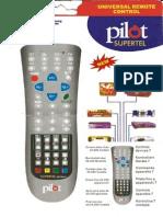 URC2002-P Universal Remote Control