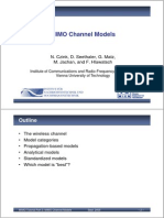 MIMO Channel Models