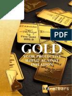 gold brochure