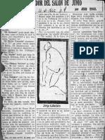 Articulo Jean Emar 11 Junio 1925