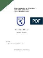 Documento # 2 Procesos Mentales Superiores