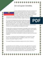 Ecuador en La Gran Colombia