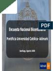 Encuesta Nacional Bicentenario 09