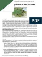 Desmatamento e Degradação Florestal No Bioma Amazônia 2000 - 2010 — Imazon