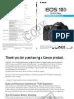 Canon Eos 10D Eng