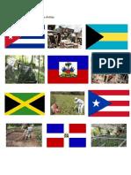 Paises de America Insular y Sus Imagenes