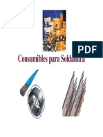 Consumibles soldadura