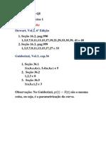 Lista de Exercicios 1-Calculo 3