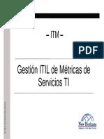 Metricas de Los Servicios de Ti