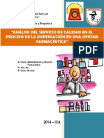 Analisis de Dispensacion de Medicamento !!