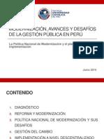 Gestión Pública en El Perú - Mariana Llona - PUCP 14-06-14