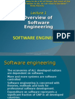 L1- Overview of Software Engineering