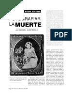 Fotografiar La Muerte-Andrea Cuarterolo