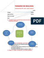 Cuestionario Biologia (Segundo Bachillerato) 2014