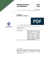 Ntc1039 Glicerol Metodo de Analisis