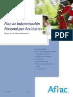 Plan de Indemnización Personal Por Accidentes (Nivel 1)