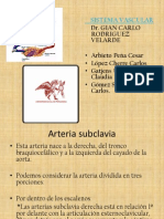 Arteria Subclavia Power Point