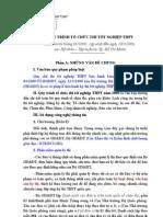 Dự thảo quy trình thi TNPT 2009 (18.3)