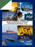 Anuário Da Indústria de Petróleo e Gás Natural de São Paulo - 2013