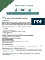Laboratorio 1 Configuración de Las VLAN Estáticas