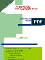 Decreto Supremo 67 Nov. 2010