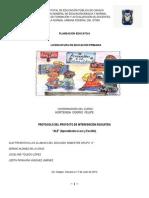 Protocolo Del Proyecto de Intervención Educativa(Planeacion) Entregado