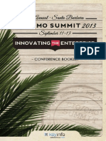 2013 CIO-CMO Summit Conference Booklet