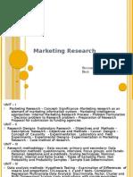 Marketing Research - II