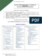Guia de Estudio Del Parcial de Quimica i Cuarto Semestre