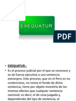 EXEQUATOR DIAPOSITIVAS