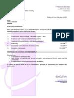 Presupuesto - Registro de Software