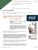 21-07-14 ENTREVISTA CONCEDIDA POR EL DIPUTADO MARCO ANTONIO BERNAL GUTIÉRREZ, PRESIDENTE DE LA COMISIÓN DE ENERGÍA