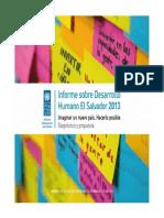 PNUD informe desarrollo2013