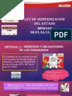 Ley de Modernización Del Estado EXPO