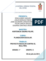 Proyecto Sobre Bullying Edit Edgardo