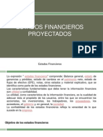 Estados Financieros Proyectados