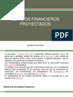 Estados Financieros Proyectados