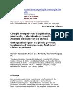 Cirugia Ortognatica; Dx, Protocolo, Tratamiento y Complicaciones