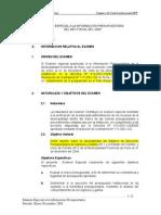 Examen Presupuestario.2005 Exponer