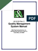B&a-AS9100c BA Quality Manual