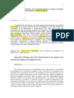 Dictamen 3-SN-TICs Como Apoyo Al Docente-Investigador en Educación Superior
