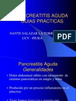 PANCREATITIS AGUDA Guias Clinicas Dr Dante