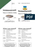 Majlis Di Ambang Syawal( brosur)
