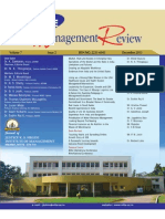 Nitte Management Review Paper by Babu George