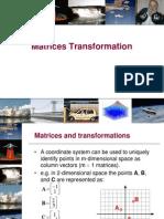 Matrices Transformation