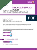 Actividades y Sugerencias - Estudios Sociales Decimo Ano